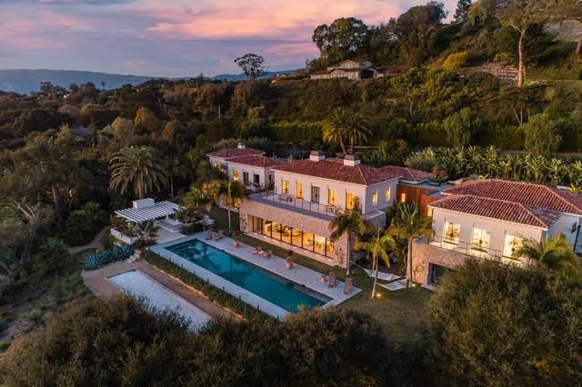 4160 La Ladera Rd, Santa Barbara, CA 93110 (MLS #21-740) :: Chris Gregoire & Chad Beuoy Real Estate