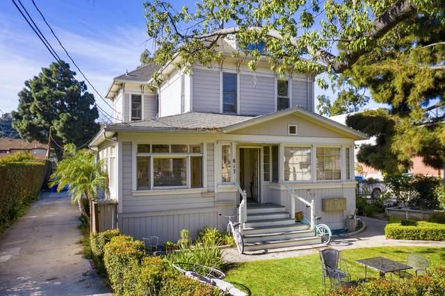 817 De La Vina St, Santa Barbara, CA 93101 (MLS #21-775) :: Chris Gregoire & Chad Beuoy Real Estate