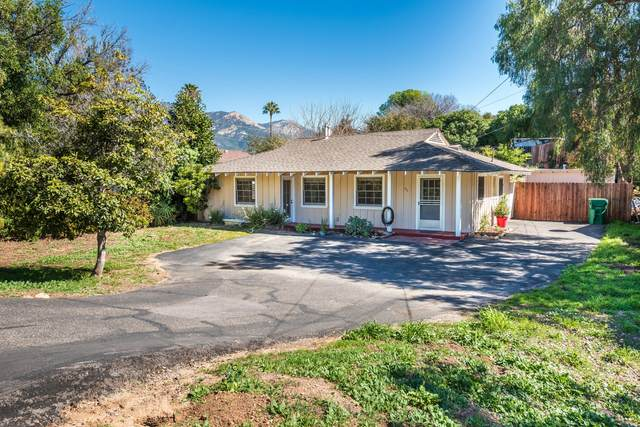 670 El Sueno Rd, Santa Barbara, CA 93110 (MLS #21-795) :: Chris Gregoire & Chad Beuoy Real Estate