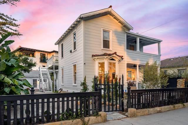 728 De La Vina St, Santa Barbara, CA 93101 (MLS #21-807) :: Chris Gregoire & Chad Beuoy Real Estate