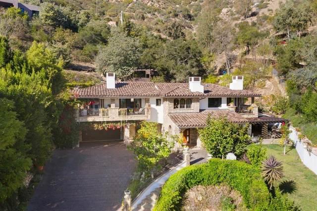 330 E Mountain Drive, Montecito, CA 93108 (MLS #21-87) :: Chris Gregoire & Chad Beuoy Real Estate