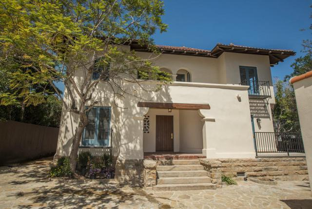 1724 Garden St, Santa Barbara, CA 93101 (MLS #RN-14627) :: The Zia Group