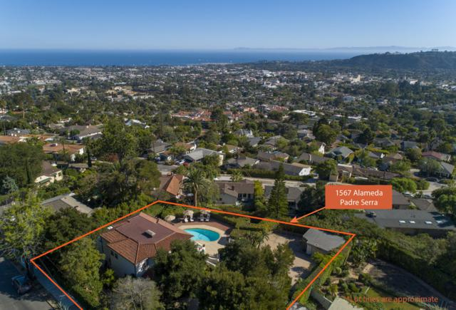 1567 Alameda Padre Serra, Santa Barbara, CA 93103 (MLS #18-3353) :: The Zia Group
