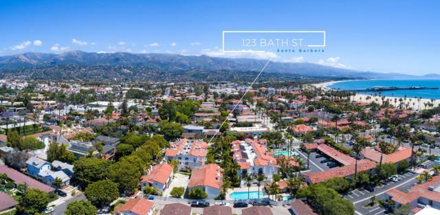 123 Bath St A6, Santa Barbara, CA 93101 (MLS #19-1712) :: The Zia Group