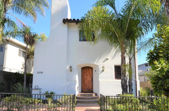 2316 De La Vina St A, Santa Barbara, CA 93105 (MLS #19-1834) :: Chris Gregoire & Chad Beuoy Real Estate