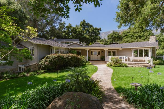 720 Ladera Lane, Montecito, CA 93108 (MLS #19-1989) :: The Zia Group