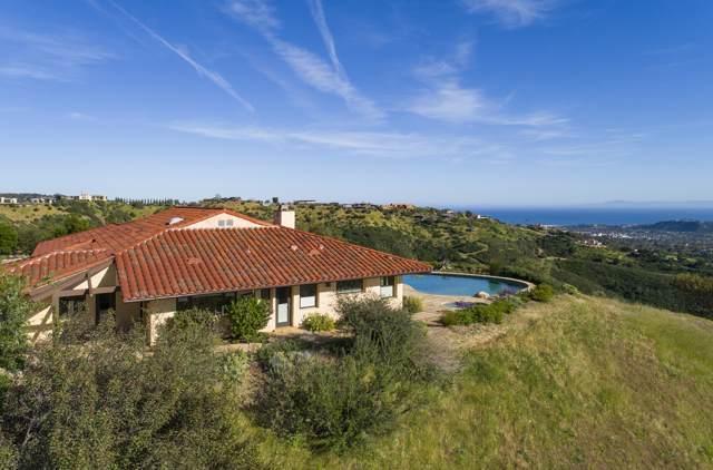 2885 Spyglass Ridge Rd, Santa Barbara, CA 93105 (MLS #19-2381) :: Chris Gregoire & Chad Beuoy Real Estate