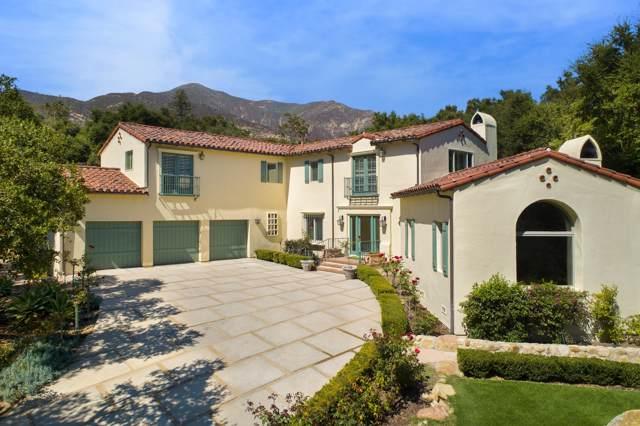 820 Riven Rock Rd, Montecito, CA 93108 (MLS #19-2824) :: The Zia Group