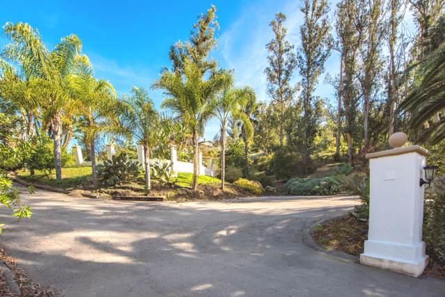 1790 Sycamore Canyon Rd, Santa Barbara, CA 93108 (MLS #20-116) :: Chris Gregoire & Chad Beuoy Real Estate