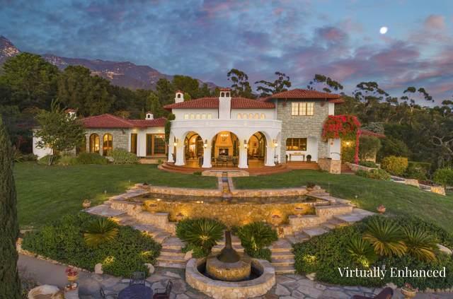 620 Cima Vista Ln, Montecito, CA 93108 (MLS #20-2156) :: The Zia Group