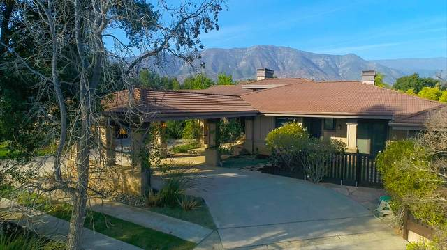 400 Buckboard Ln, Ojai, CA 93023 (MLS #20-848) :: The Zia Group