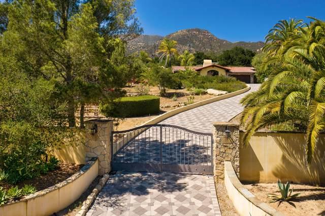 1903 Coyote Circle, Montecito, CA 93108 (MLS #21-2041) :: Chris Gregoire & Chad Beuoy Real Estate