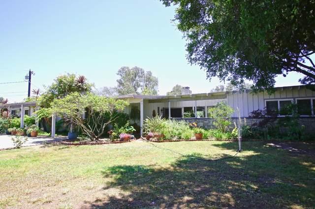 4878 Vieja Dr, Santa Barbara, CA 93110 (MLS #21-2055) :: Chris Gregoire & Chad Beuoy Real Estate