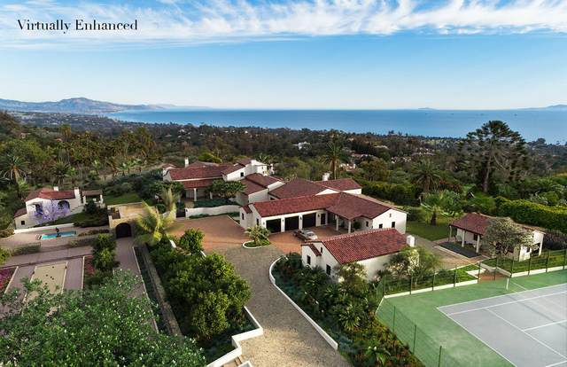 605/607 Cowles Rd, Montecito, CA 93108 (MLS #21-701) :: Chris Gregoire & Chad Beuoy Real Estate
