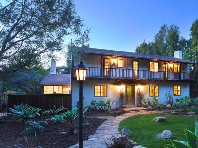 729 Mission Canyon Rd, Santa Barbara, CA 93105 (MLS #17-2589) :: The Zia Group
