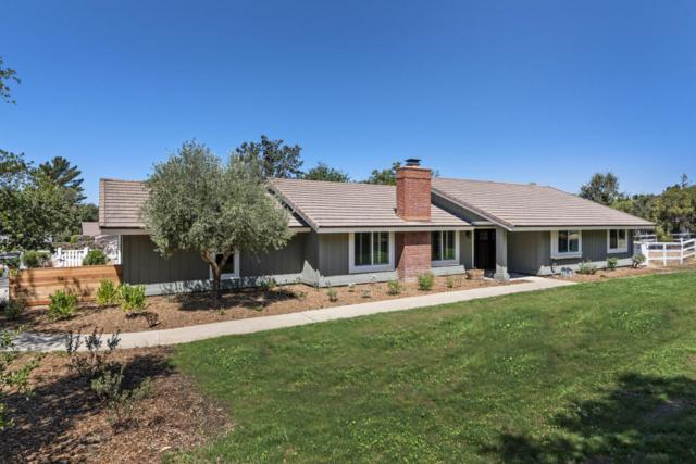 1351 Calzada Ave, Santa Ynez, CA 93460 (MLS #17-2746) :: The Zia Group