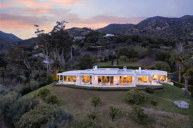 1188 E Mountain Dr, Montecito, CA 93108 (MLS #20-1339) :: Chris Gregoire & Chad Beuoy Real Estate