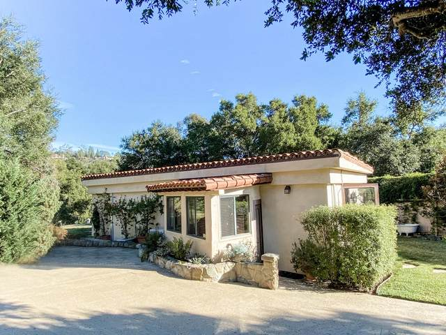 2825 Hidden Valley Ln, Montecito, CA 93108 (MLS #20-6) :: The Zia Group
