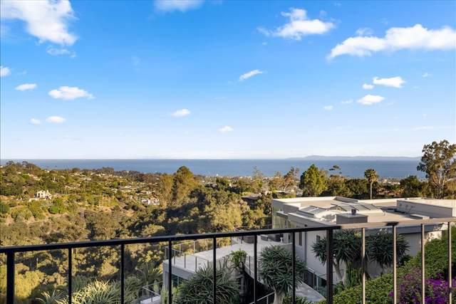 424 Las Alturas Rd, Santa Barbara, CA 93103 (MLS #21-1933) :: Chris Gregoire & Chad Beuoy Real Estate