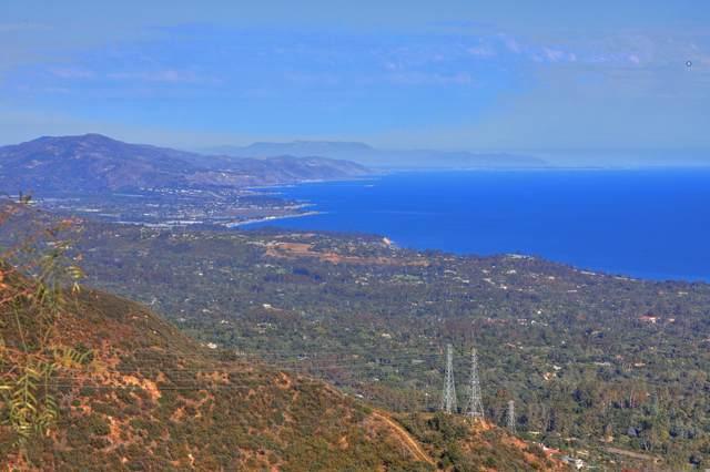 2690 Gibraltar Rd, Santa Barbara, CA 93105 (MLS #21-2097) :: The Epstein Partners