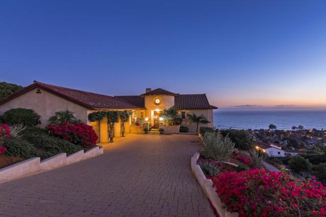 1610 La Vista Del Oceano, Santa Barbara, CA 93109 (MLS #18-4134) :: Chris Gregoire & Chad Beuoy Real Estate