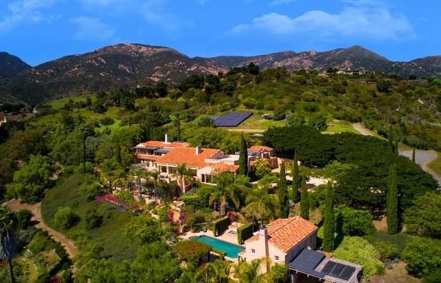 3756 Foothill Rd, Santa Barbara, CA 93105 (MLS #20-162) :: The Epstein Partners
