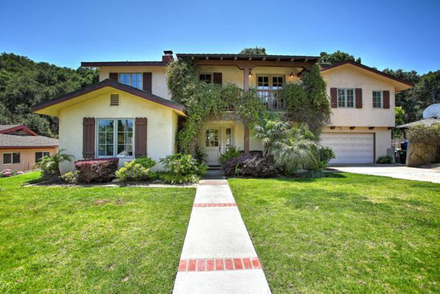 1103 Portesuello Ave, Santa Barbara, CA 93105 (MLS #RN-14634) :: The Zia Group