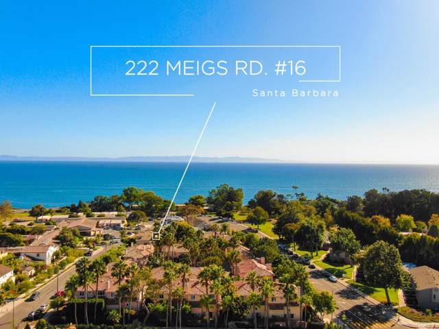 222 Meigs Road #16, Santa Barbara, CA 93109 (MLS #19-3368) :: Chris Gregoire & Chad Beuoy Real Estate