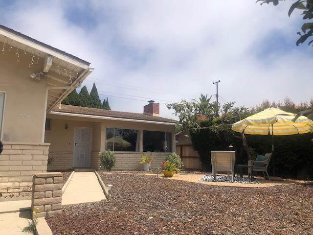 229 Santa Ynez Ct, Santa Barbara, CA 93103 (MLS #20-3141) :: Chris Gregoire & Chad Beuoy Real Estate
