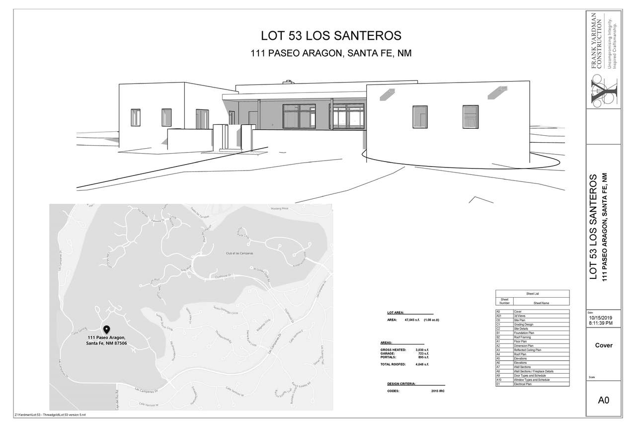 111 Paseo Aragon (Lot 53, Los Santeros) - Photo 1