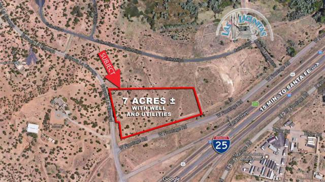 0 W Frontage Road Lot 106, Santa Fe, NM 87508 (MLS #201701648) :: The Desmond Group