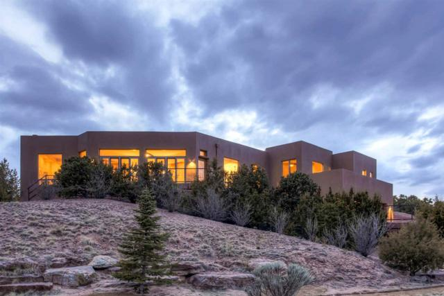758 Ridge Canyon, Santa Fe, NM 87506 (MLS #201702168) :: The Desmond Group