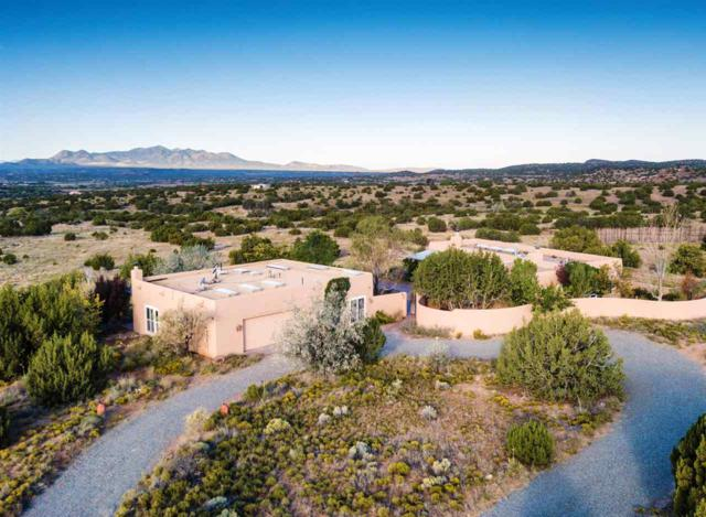 14 Camino Los Angelitos, Galisteo, NM 87540 (MLS #201704557) :: The Desmond Group