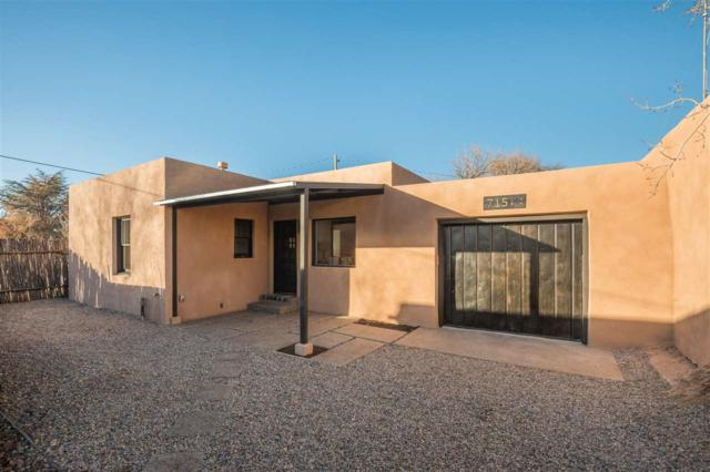 715 1/2 W Manhattan, Santa Fe, NM 87501 (MLS #201705575) :: DeVito & Desmond