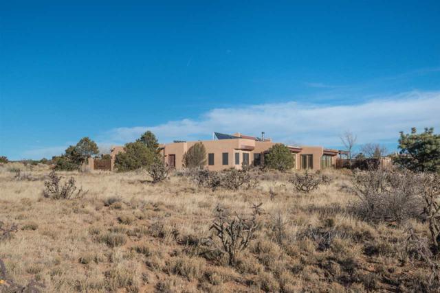 35 Cuesta Rd, Santa Fe, NM 87508 (MLS #201705616) :: DeVito & Desmond