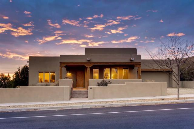 89 Avenida Aldea, Santa Fe, NM 87507 (MLS #201800095) :: The Desmond Group
