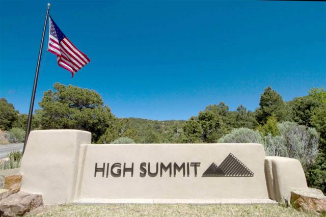 1117 S Summit Ridges Lot 30 A, Santa Fe, NM 87501 (MLS #201800571) :: The Desmond Group