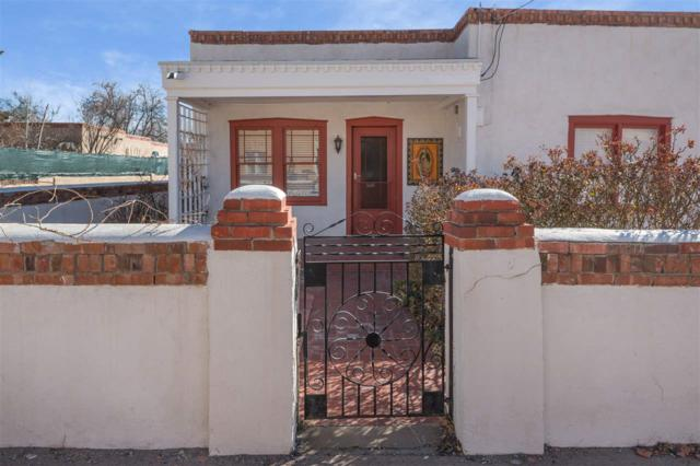 828 West Manhattan, Santa Fe, NM 87501 (MLS #201800989) :: The Desmond Group