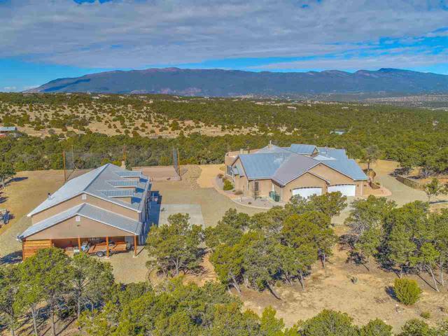 76 Via Sedillo, Tijeras, NM 87059 (MLS #201801322) :: The Very Best of Santa Fe