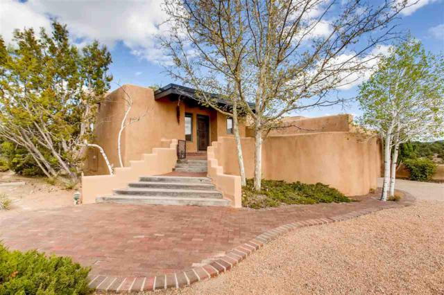 868 Camino Del Este, Santa Fe, NM 87501 (MLS #201801887) :: The Desmond Group