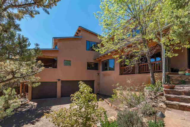 1621 Camino De Cruz Blanca, Santa Fe, NM 87505 (MLS #201802272) :: The Very Best of Santa Fe
