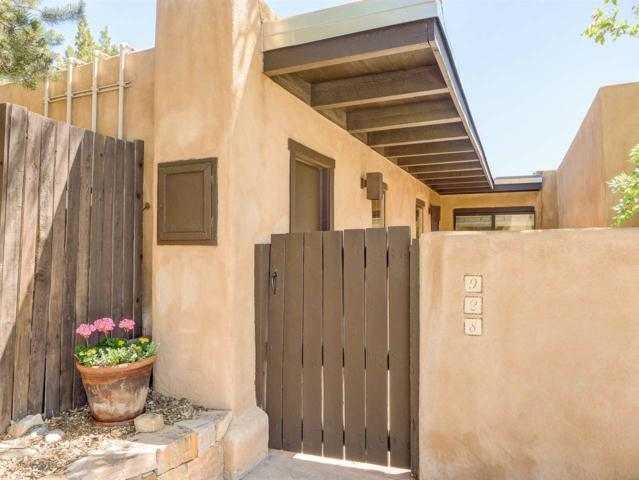 928 Los Lovatos, Santa Fe, NM 87501 (MLS #201802293) :: The Desmond Group