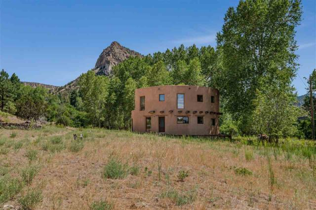 595 Cr 194, Canones, NM 87516 (MLS #201803427) :: The Desmond Group