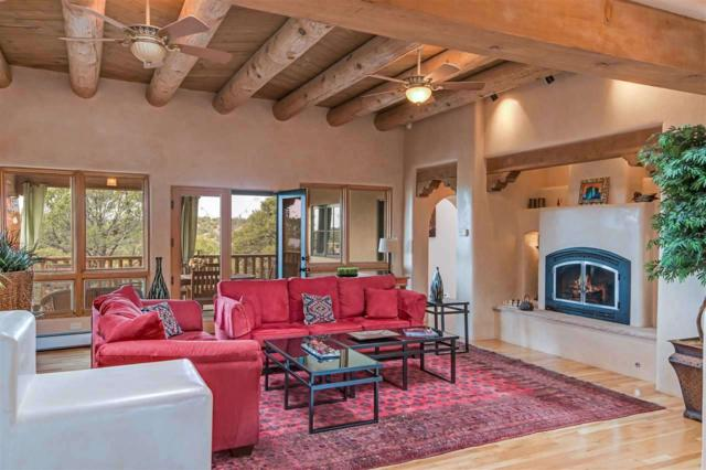 1916 Senda De Eleuterio, Santa Fe, NM 87501 (MLS #201803471) :: The Desmond Group