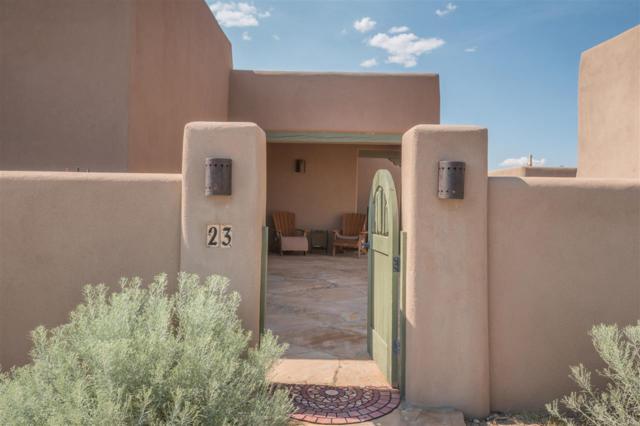 23 Camino Botanica, Santa Fe, NM 87507 (MLS #201804416) :: The Desmond Group