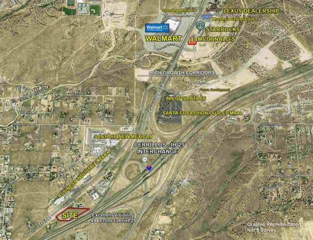 27698 W Frontage, Santa Fe, NM 87507 (MLS #201804684) :: The Very Best of Santa Fe