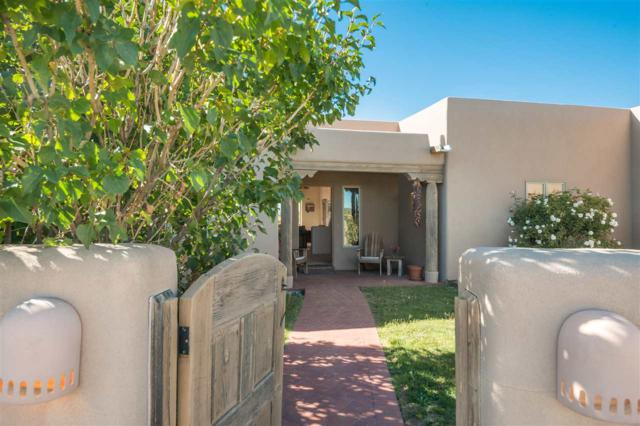 70 La Paz Loop, Santa Fe, NM 87508 (MLS #201804725) :: The Desmond Group