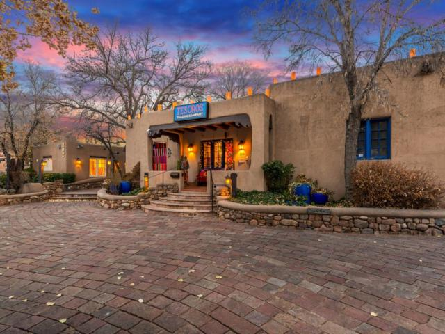 200 & 202 Canyon Rd, Santa Fe, NM 87501 (MLS #201805556) :: The Very Best of Santa Fe