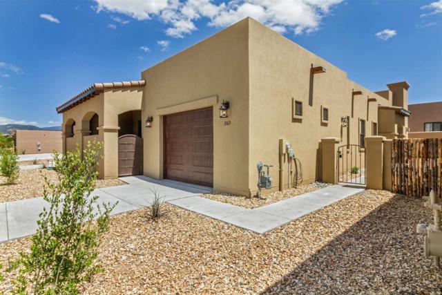 3148 Viale Tresana, Santa Fe, NM 87505 (MLS #201900447) :: The Desmond Group