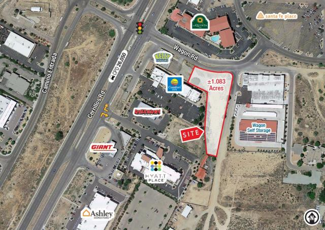 Wagon Rd. & Emblem Rd., Santa Fe, NM 87507 (MLS #201900689) :: The Bigelow Team / Realty One of New Mexico